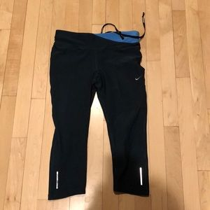 Nike dri fit Capri tights